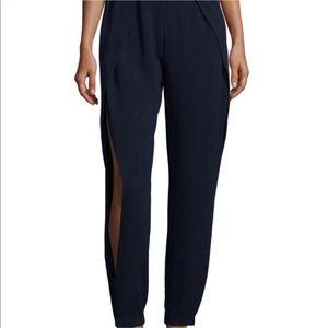 NWT Jonathan Simkhai Slit Navy Pants 4